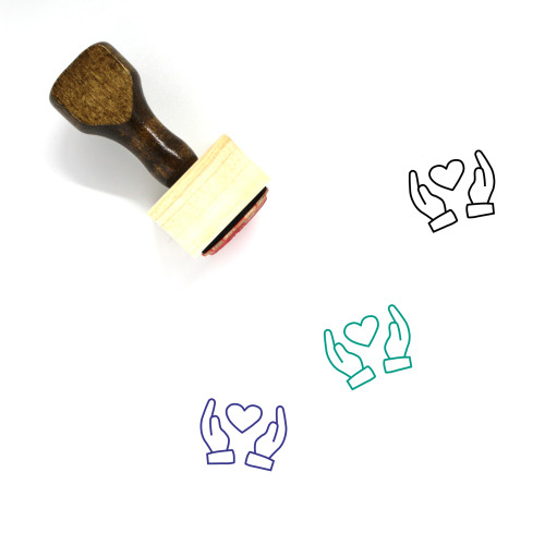 Love Wooden Rubber Stamp No. 387