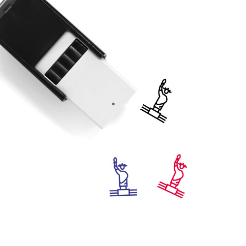Statue Of Liberty Self-Inking Rubber Stamp No. 42