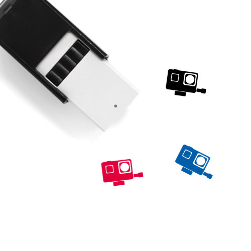 Action Camera Self-Inking Rubber Stamp No. 15