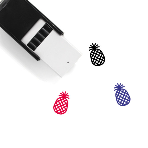 Pineapple Self-Inking Rubber Stamp No. 34