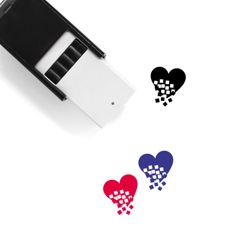 Break Up Self-Inking Rubber Stamp No. 1