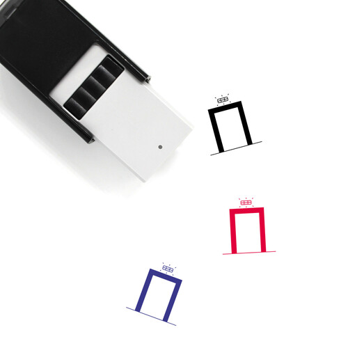 Emergency Light Self-Inking Rubber Stamp No. 11