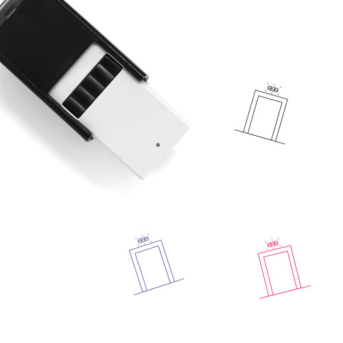 Emergency Light Self-Inking Rubber Stamp No. 12