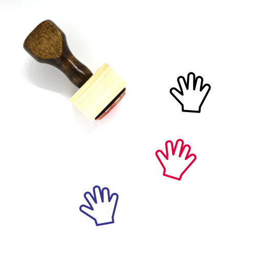 Hand Tool Wooden Rubber Stamp No. 2