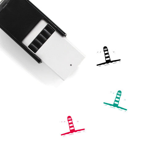 Lighthouse Self-Inking Rubber Stamp No. 119