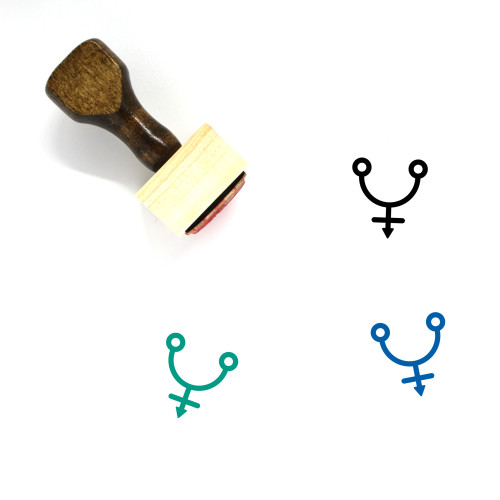 Arsenic Wooden Rubber Stamp No. 1