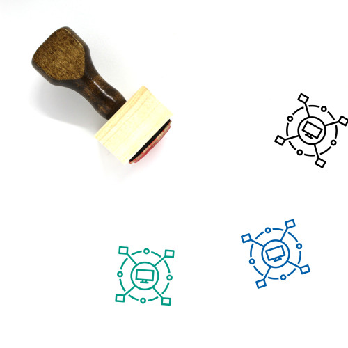 Computerized Wooden Rubber Stamp No. 1