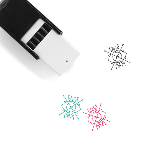 Ar Self-Inking Rubber Stamp No. 1