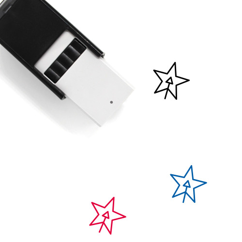 Add Shape Layer Self-Inking Rubber Stamp No. 1