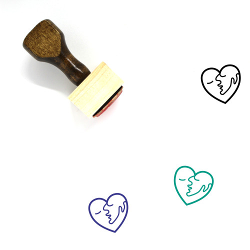 Love Wooden Rubber Stamp No. 408