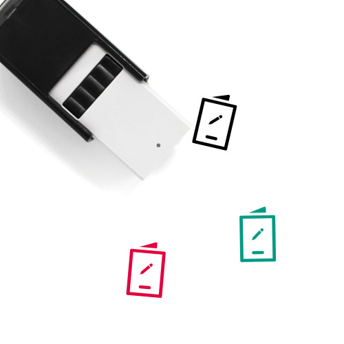 Order Modified Self-Inking Rubber Stamp No. 1