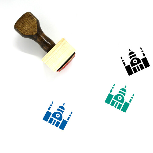 Synagogue Wooden Rubber Stamp No. 10