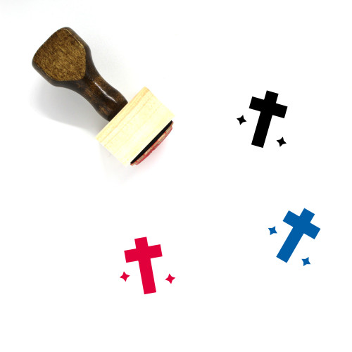 Christian Wooden Rubber Stamp No. 27