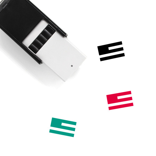 American Flag Self-Inking Rubber Stamp No. 10