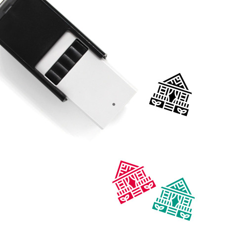 Bungalow Self-Inking Rubber Stamp No. 7