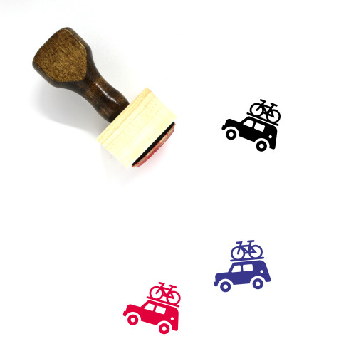 Jeep Wooden Rubber Stamp No. 5