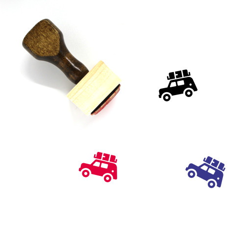 Jeep Wooden Rubber Stamp No. 6