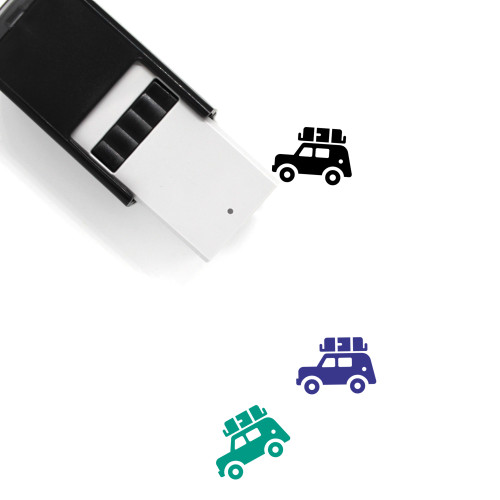 Jeep Self-Inking Rubber Stamp No. 6