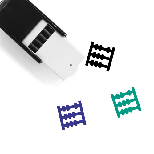 Abacus Self-Inking Rubber Stamp No. 13