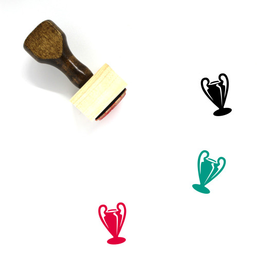 Trophy Wooden Rubber Stamp No. 363
