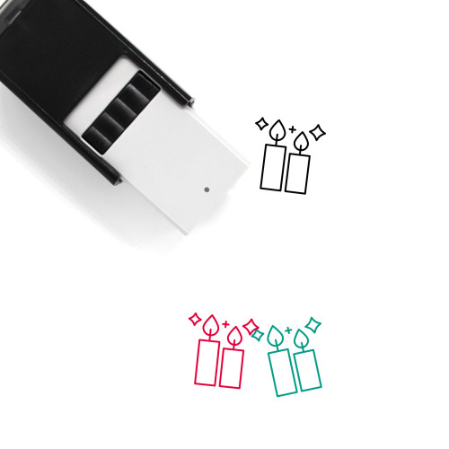 Christmas Self-Inking Rubber Stamp No. 192