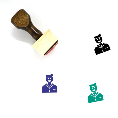 Customer Wooden Rubber Stamp No. 86
