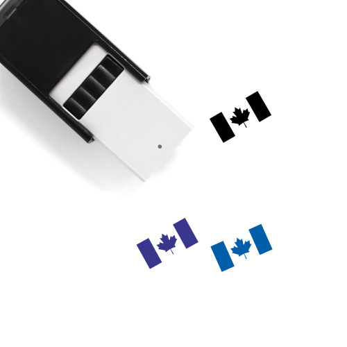 Canada Day Self-Inking Rubber Stamp No. 1