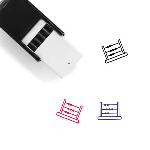 Abacus Self-Inking Rubber Stamp No. 14