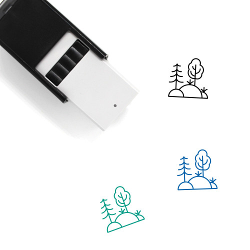 Prehistoric Self-Inking Rubber Stamp No. 3