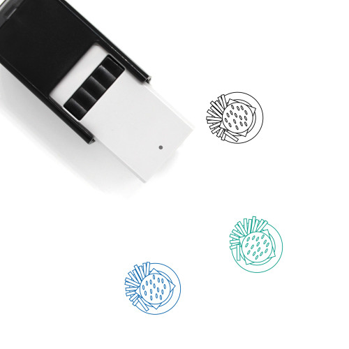 Meal Self-Inking Rubber Stamp No. 17