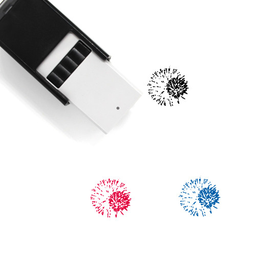 Fireworks Self-Inking Rubber Stamp No. 94