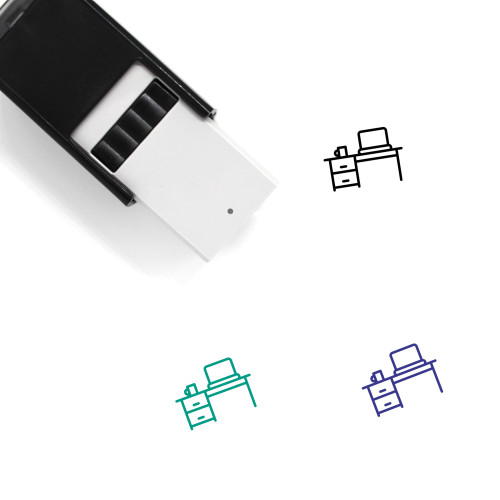 Workspace Self-Inking Rubber Stamp No. 4
