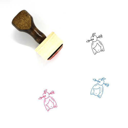 Target Wooden Rubber Stamp No. 130