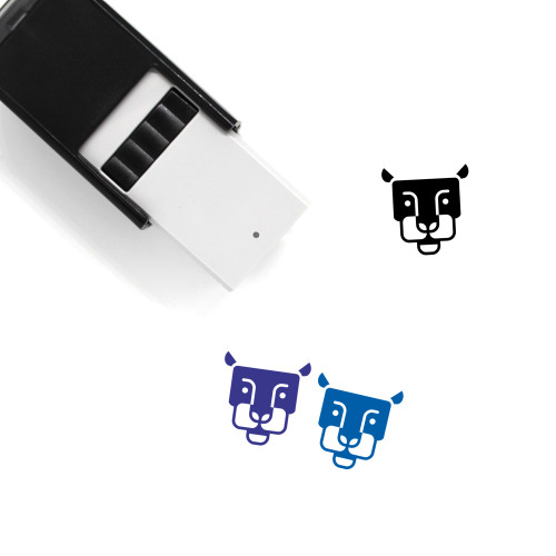 Panther Self-Inking Rubber Stamp No. 11