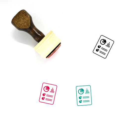 Report Wooden Rubber Stamp No. 101
