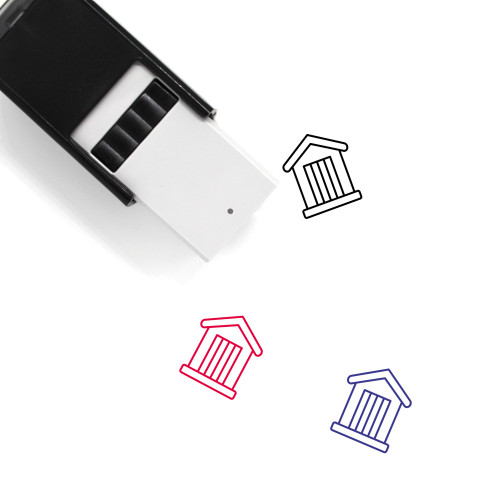 Shed Self-Inking Rubber Stamp No. 1