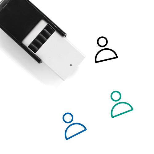 Account Self-Inking Rubber Stamp No. 91