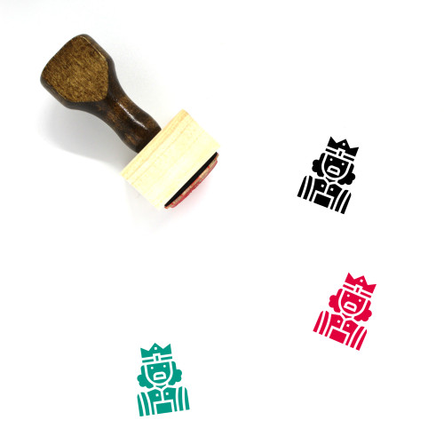 King Wooden Rubber Stamp No. 312