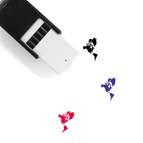 Americas Self-Inking Rubber Stamp No. 3