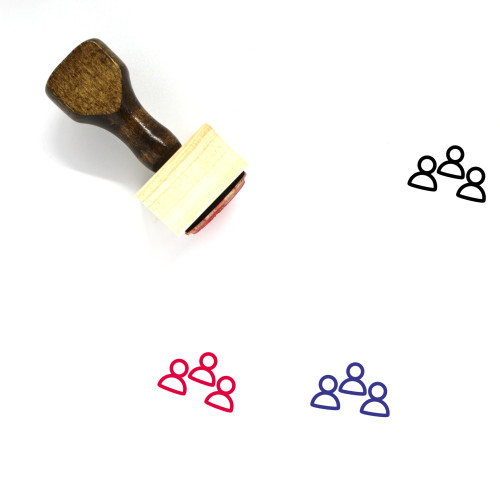 Business Meeting Wooden Rubber Stamp No. 19