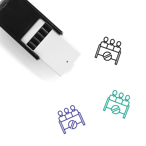 Opponent Self-Inking Rubber Stamp No. 1