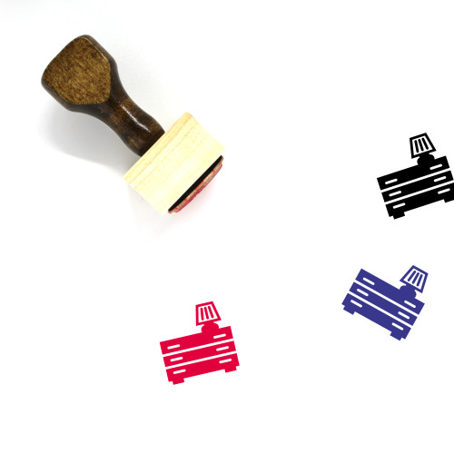 Sofa Wooden Rubber Stamp No. 19