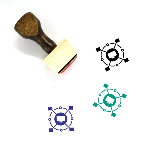 Computerized Wooden Rubber Stamp No. 2