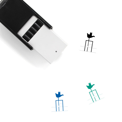 Open Hand Monument Self-Inking Rubber Stamp No. 2
