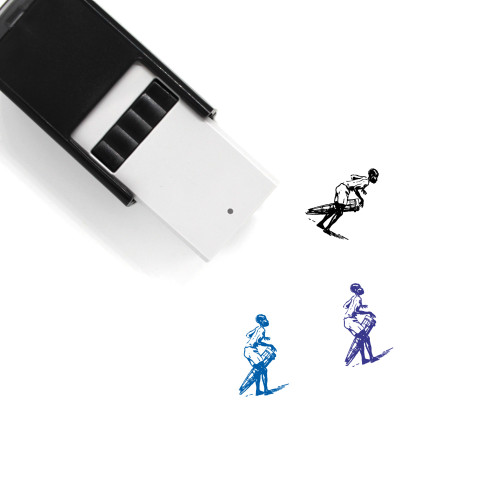 African Self-Inking Rubber Stamp No. 12