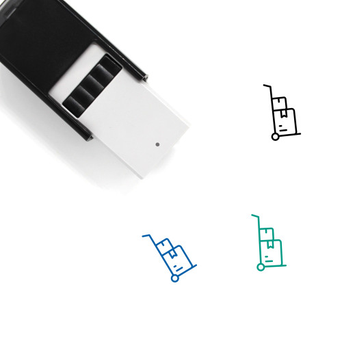 Dolly Self-Inking Rubber Stamp No. 15