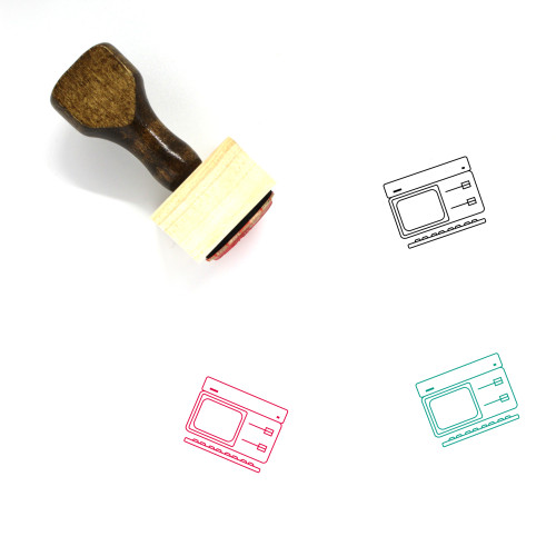 Apple ProFile Wooden Rubber Stamp No. 1