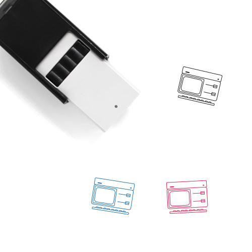 Apple ProFile Self-Inking Rubber Stamp No. 1
