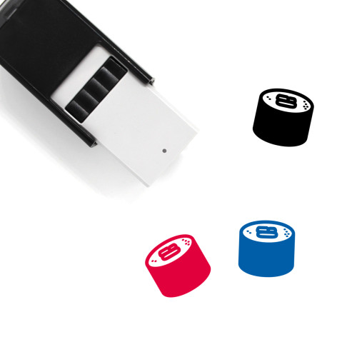 Maki Roll Self-Inking Rubber Stamp No. 3