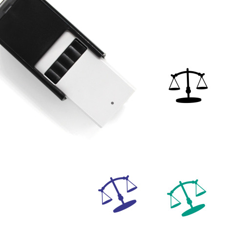 Scale Self-Inking Rubber Stamp No. 190